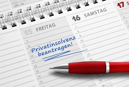Privatinsolvenz beantragen